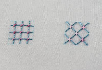 couching stitch cross stitch big b 100 stitches trellis or jacobean couching stitch
