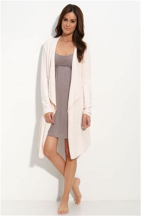 barefoot dreams bamboo chic drape front cardigan barefoot dreams 174 bamboo chic drape front cardigan in