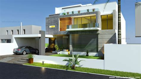House Design Modern 2015 3d front elevation com beautiful modern contemporary