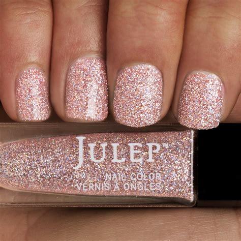 glitter nail light pink glitter nail www imgkid the