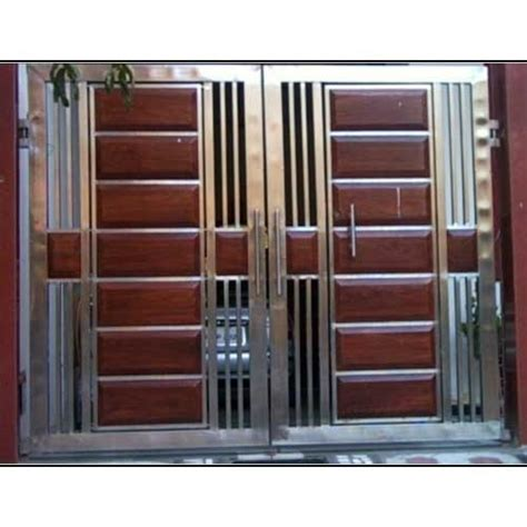 designer stainless steel safety gate fabrication service