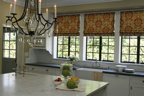 Kitchen Shades by Kitchen Shades Traditional Kitchen Burnham Design