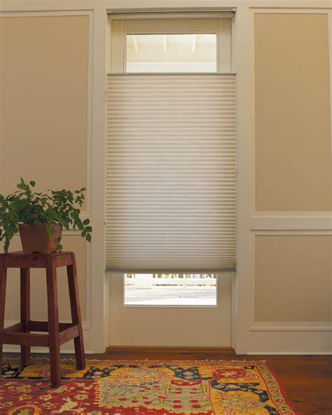 applause 174 honeycomb shade on glass door peters mo