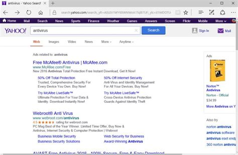 Search On Yahoo How To Remove Search Yahoo Adware Virus Removal Guide