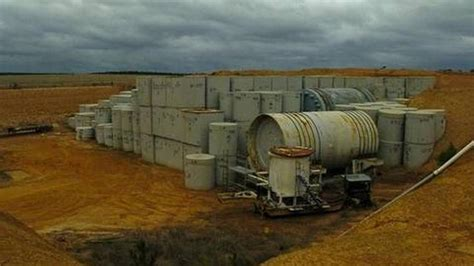 worlds nuclear waste dump breaking national news and australian leaking radioactive landfill dump needs attention court