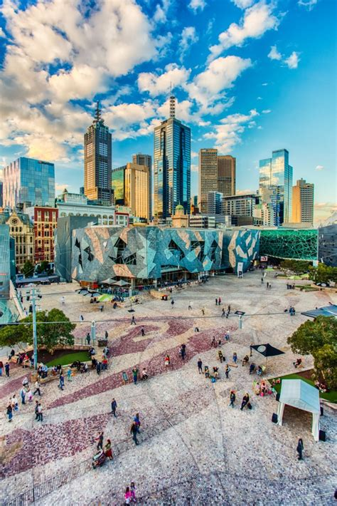 new year 2016 melbourne federation square framing federation square steven wright