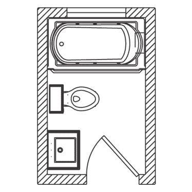 kohler bathroom floor plans 21 best 4x6 bathroom layouts images on pinterest small