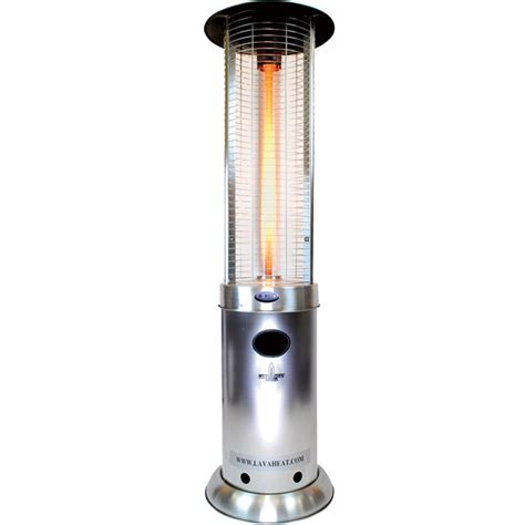 Gas Patio Heater Lowes by Shop 51 000 Btu Stainless Steel Liquid Propane Patio