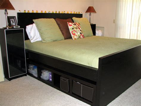raise malm bed king size headboard ikea a simple way to make your bed