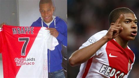 kylian mbappe years kylian mbapp 233 from 3 to 19 years old youtube