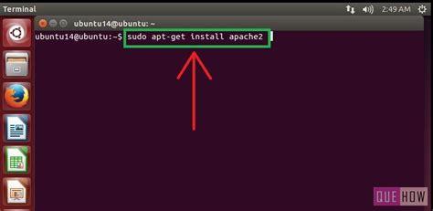 setup ubuntu web server virtualbox how to install and configure apache web server in ubuntu