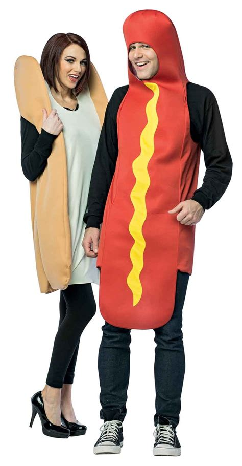 weiner costumes buy and bun couples costume