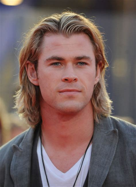 3 year long hair men chris hemsworth photos photos the hunger games
