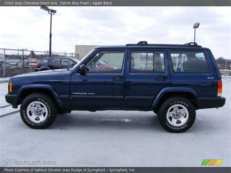 2000 Jeep Patriot 2000 Jeep Sport 4x4 In Patriot Blue Pearl Photo