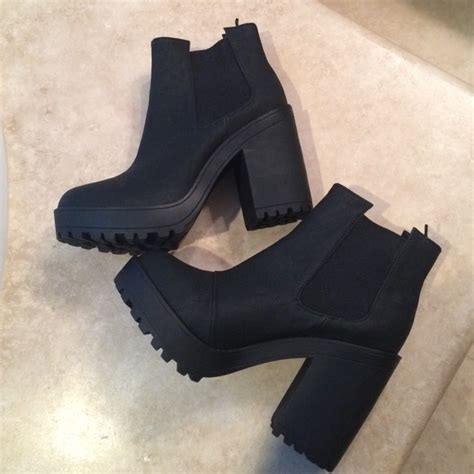h and m boots 29 h m boots black h m platform booties size 8 5