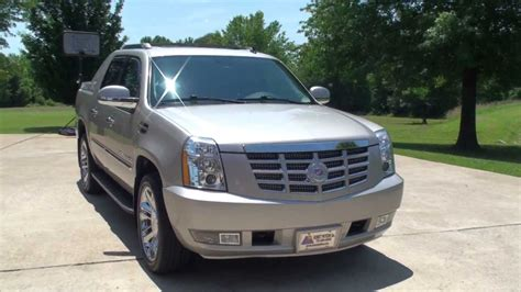 cadillac truck hd video 2009 cadillac escalade ext truck for sale see www