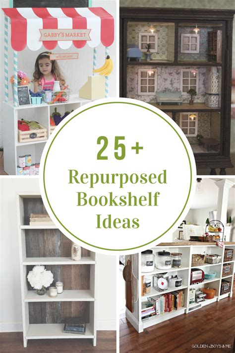 repurposed bookshelf ideas the idea room