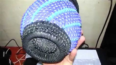 tutorial origami 3d jarron jarron origami 3d youtube
