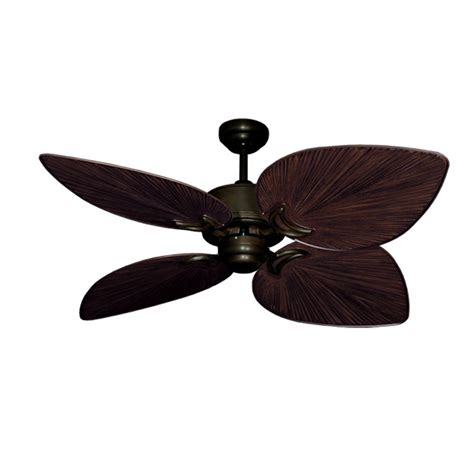 tropical ceiling fan blades outdoor tropical ceiling fan rubbed bronze bombay by