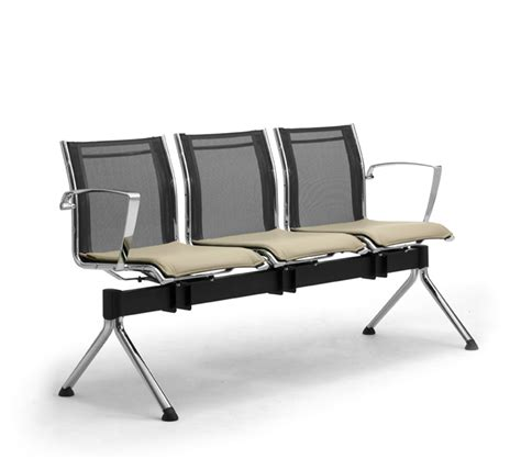 waiting room bench seating waiting room benches with mesh seating leyform