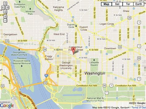 washington dc map nw i studio district