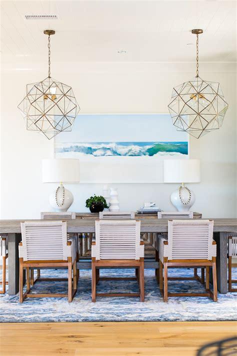 coastal dining rooms a coastal dining room designed by becki owens