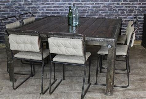 Vintage Industrial Dining Room Table Vintage Industrial Dining Room Table Interior Design