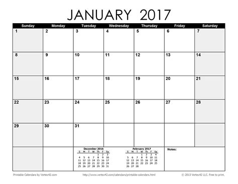 printable monthly calendar 2017 pdf download the printable monthly 2017 calendar