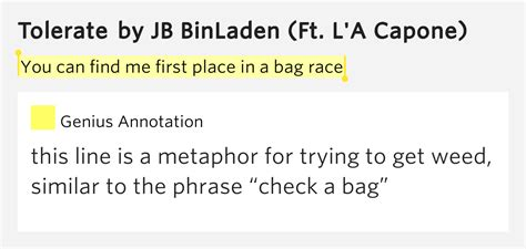 The Place Lyrics Meaning You Can Find Me Place In A Bag Race Tolerate Lyrics Meaning