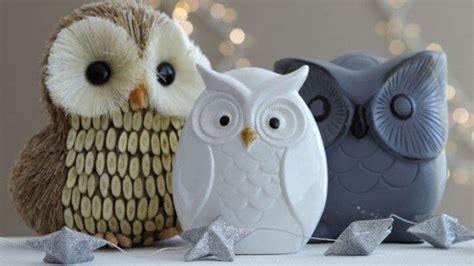 imagenes buhos navideños b 250 hos navide 241 os hechos con pi 241 as para decorar nuestro hogar