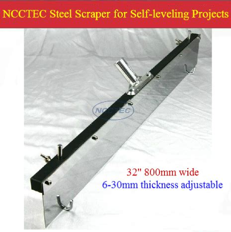 Concrete Floor Tools by 32 800mm Flat Leveller Scraper For Self Leveling