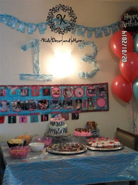 party themes tweens diy banner for birthday food with zebra theme birthday