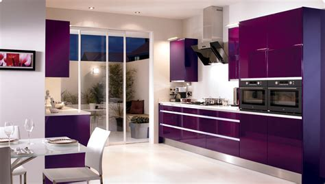 modern kitchen color ideas modern kitchen with purple color d s furniture
