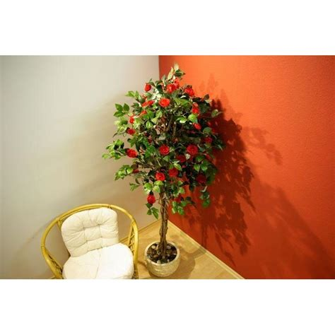 piante finte da arredo piante finte artificiali da arredo interno camelia 200 cm