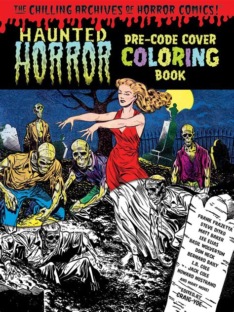 spooky end whitehouse volume 3 books haunted horror pre code cover coloring book vol 1