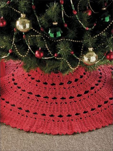 7 hour tree skirt crochet christmas pinterest