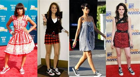 Sepatu Semi Formal Casual Sneakers Nike Slip On Suede 1 vestidos con zapatillas look urbano y rockero