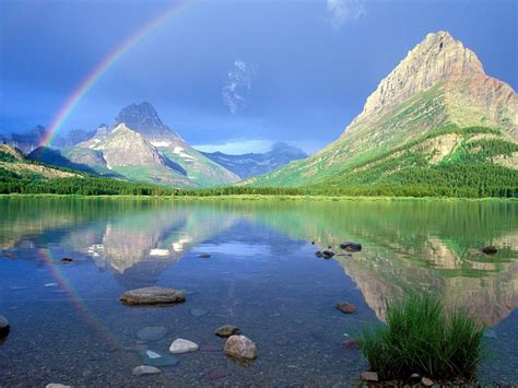 Landscape Rainbow Pictures Landscape With A Rainbow Wallpapers And Images