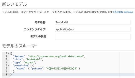 pattern json schema api gatewayを2つつないでjson以外の値をjson schemaでバリデーションしてみた