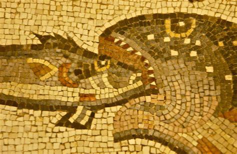 unearthing  masterpiece roman floor mosaic lod israel