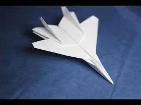How To Make A Paper Fighter Jet - how to make an f15 eagle jet fighter paper plane