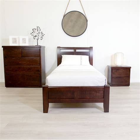 Single Bed Frame And Mattress Calypso Chocolate King Single Bed Frame Sleeping