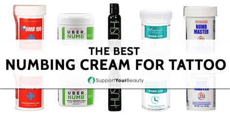 numb cream for tattoos best numbing for updated 2018