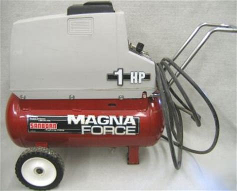 sanborn magna force  hp air compressor mofl