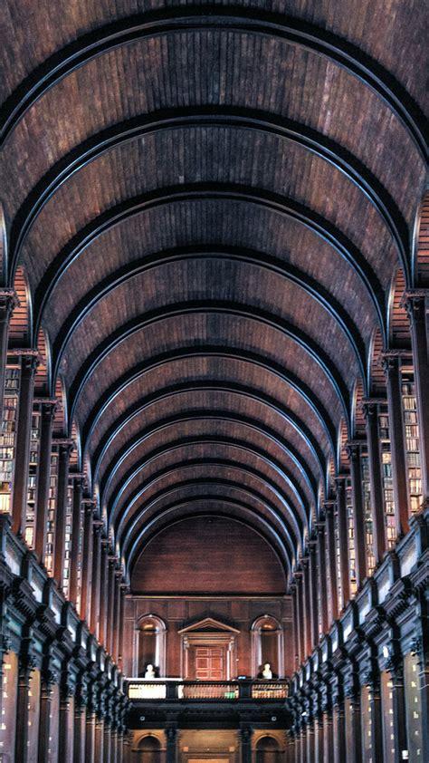 bookshelves architecture iphone  wallpaper architecture