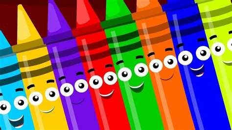 songs with colors in the name crayons ten in the bed crayons color song learn