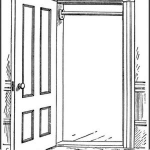 open door clipart black and white pencil and in color open door clipart black and white