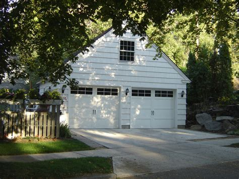 Cape Cod Garage by Cape Cod Makeover Traditional Garage And Shed Other