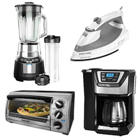 Small Appliances For Home Small Kitchen Appliances Countertop Appliances B D