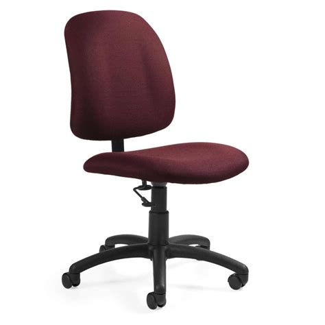 Armless Desk Chairs Ergonomic Best Computer Chairs For Best Desk Chair For